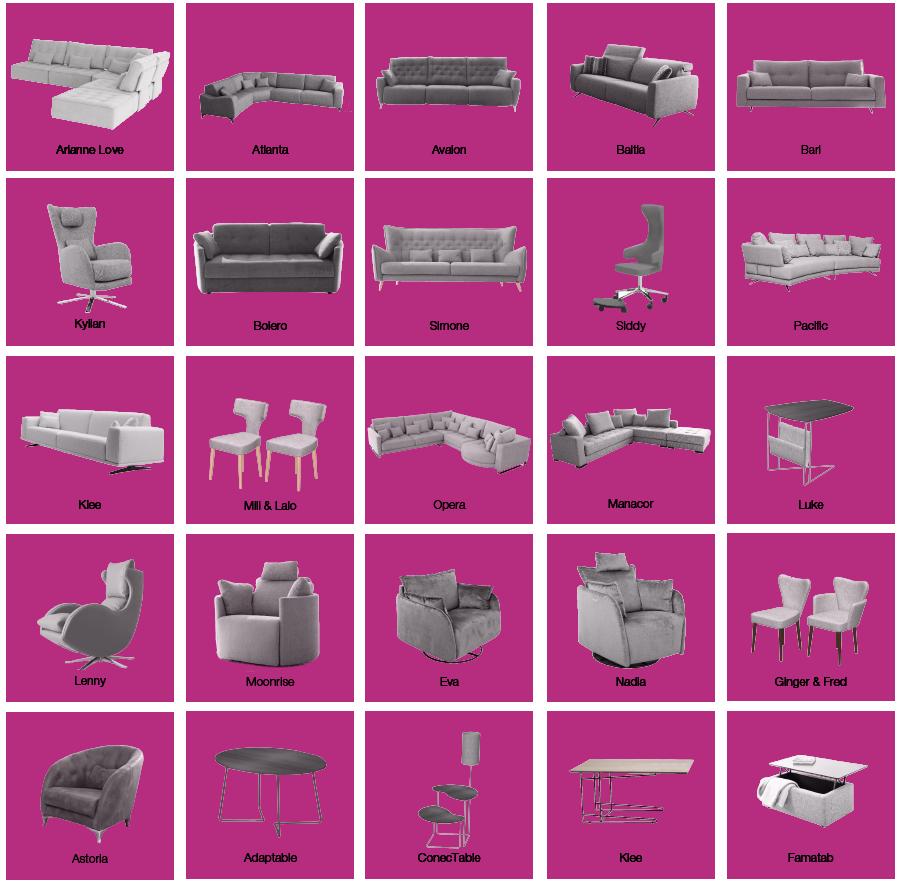 Modelos disponibles en Famaliving Donostia