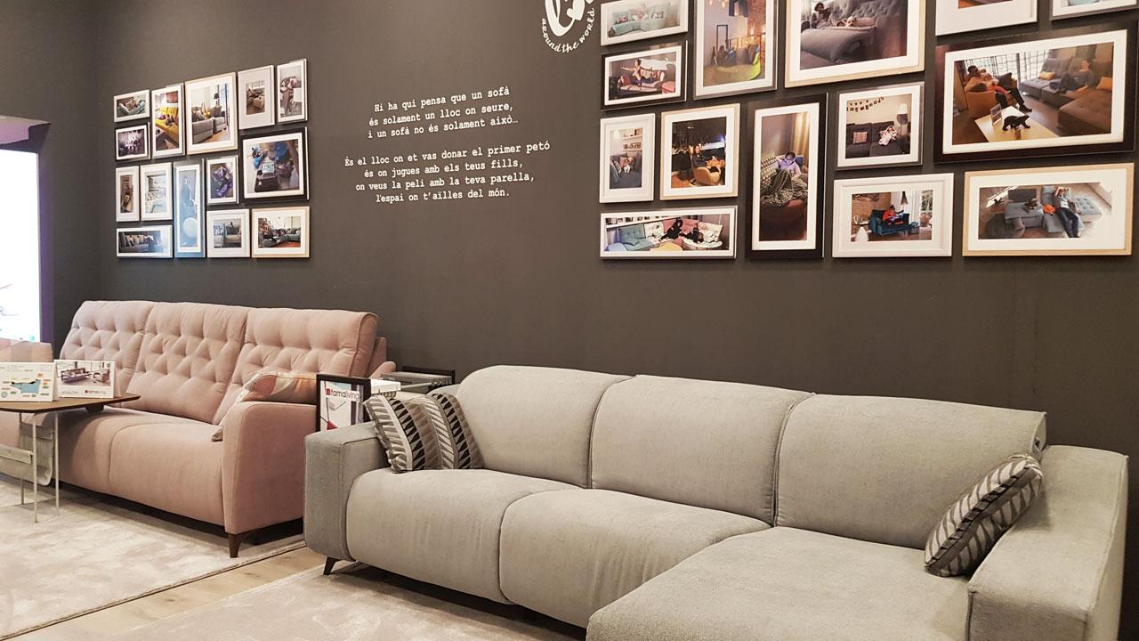 Imágenes tienda Famaliving Barcelona Mallorca