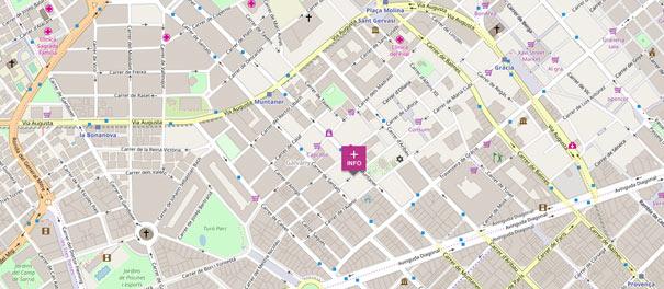 Localisation Famaliving Barcelona Muntaner