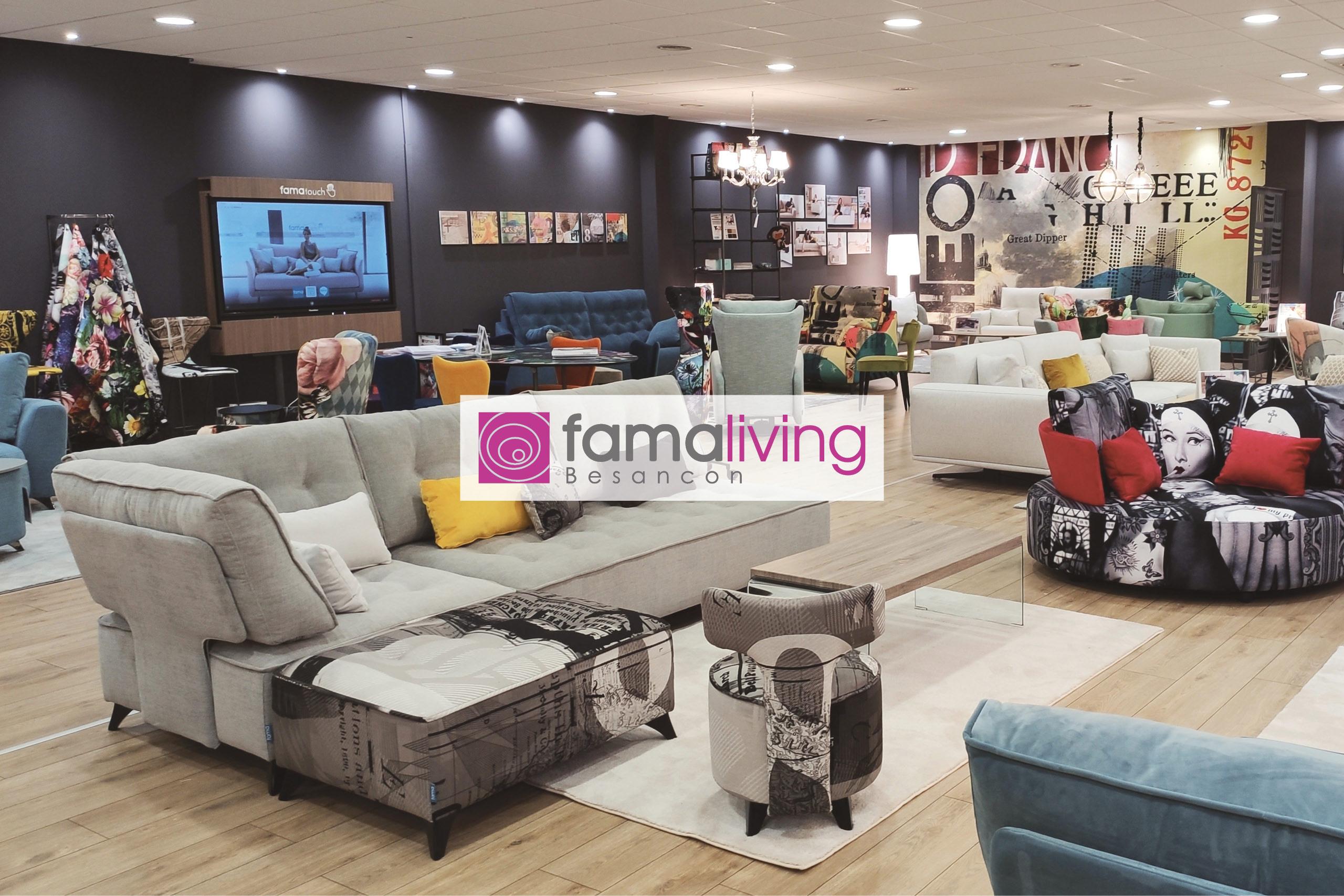 Famaliving Besançon | Tienda de sofás