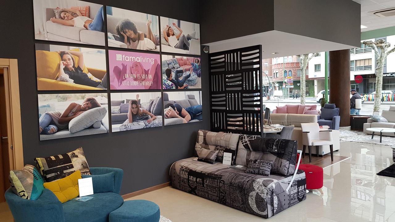 Imagenes tienda Famaliving Burgos