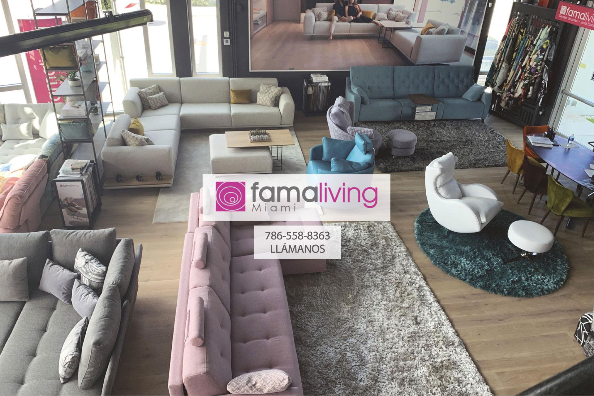 <p>Famaliving Miami | Tienda de Sofás<br></p>