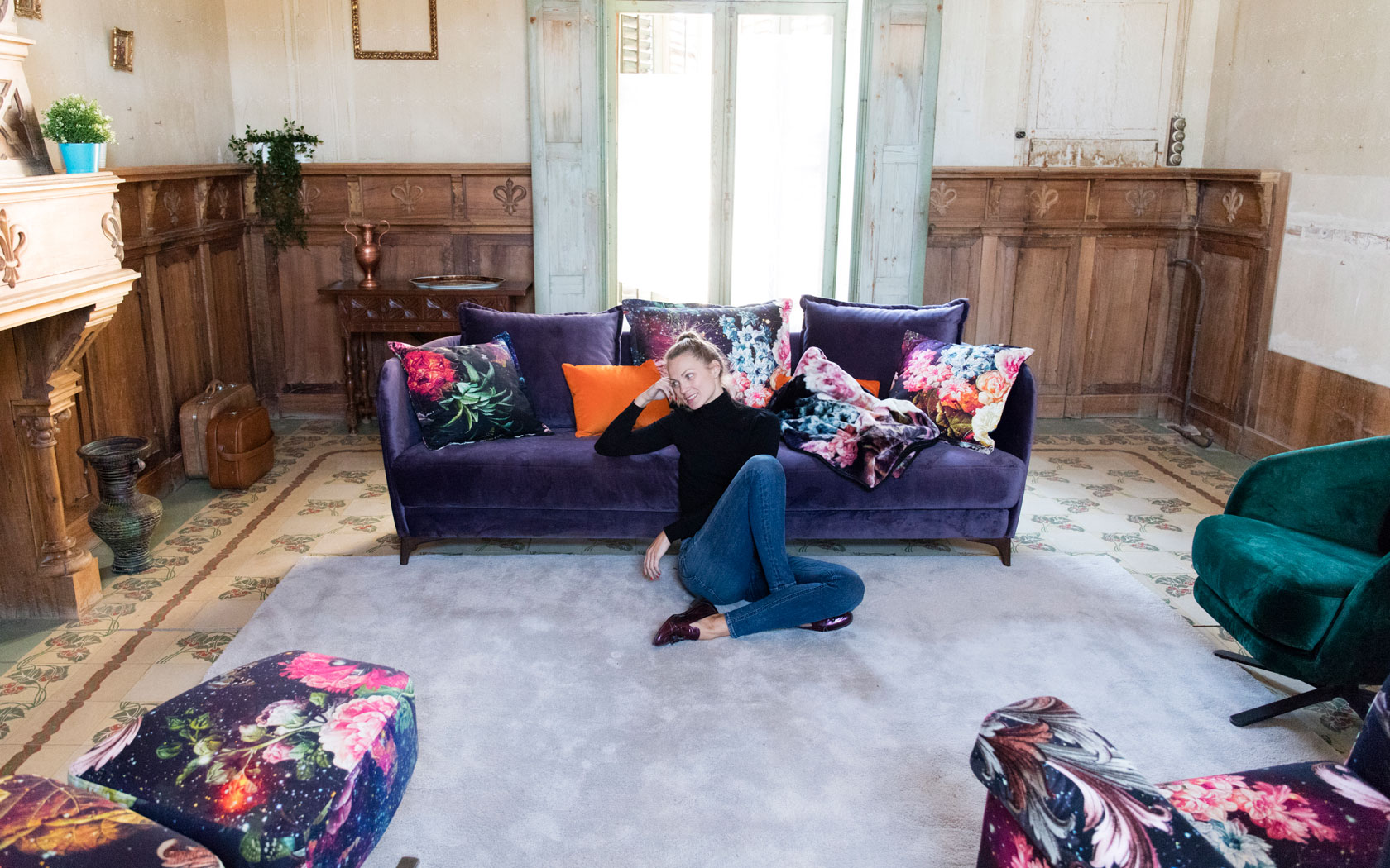 Nadine sofa Fama la ligne 2019 07
