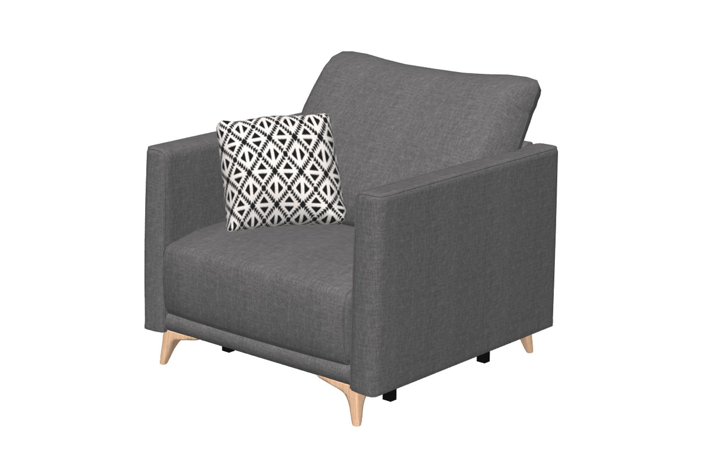 Dalí sillón fauteuil lit 2D