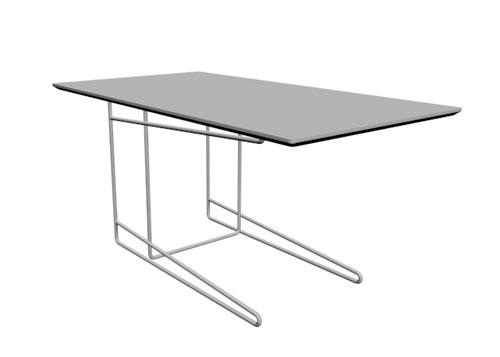 Mesa encastrable Klee 110x60