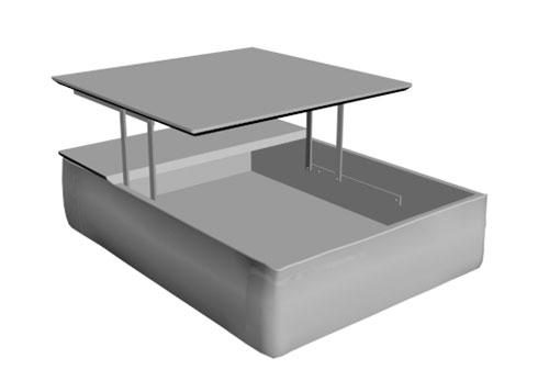 Mesa elevable Klee