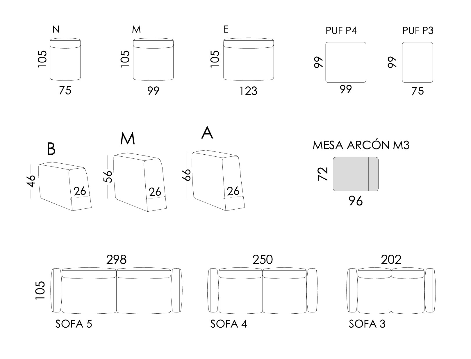Klee medidas modulos