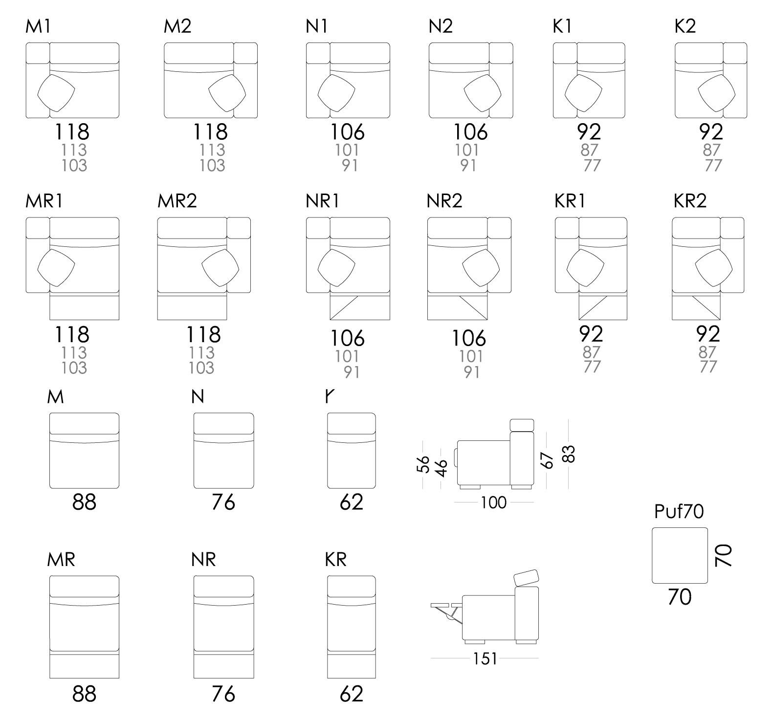 Loto medidas modulos 02