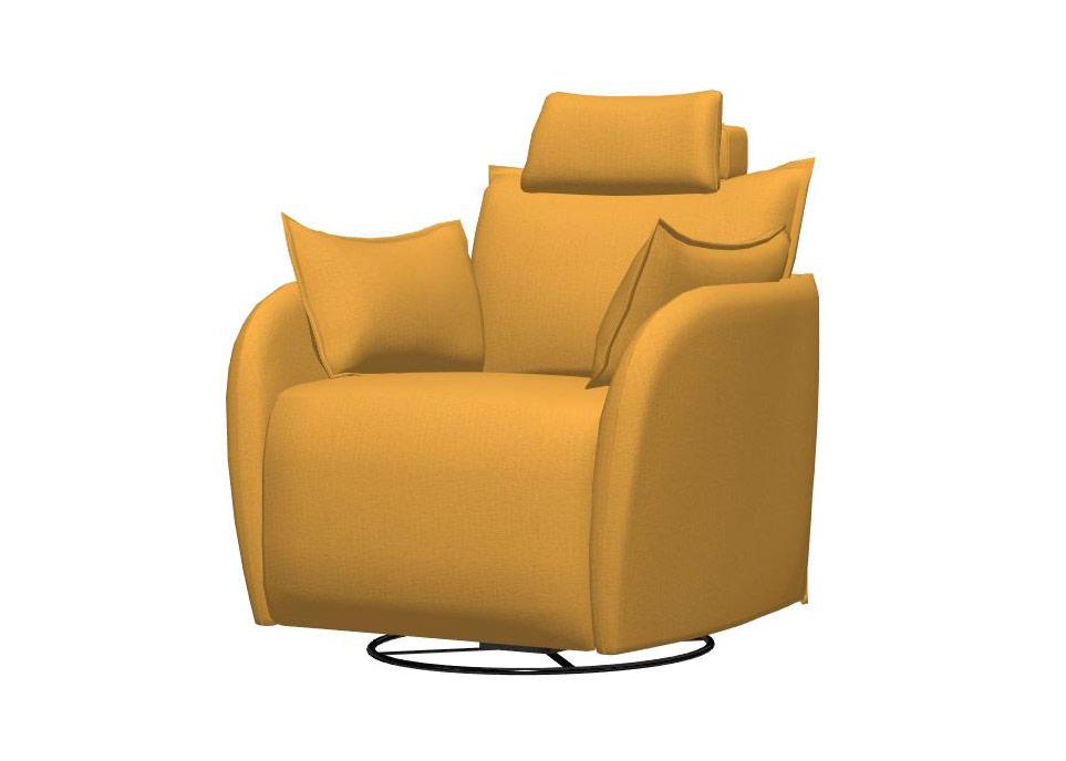 Simulación Nadia sillón 1 plaza