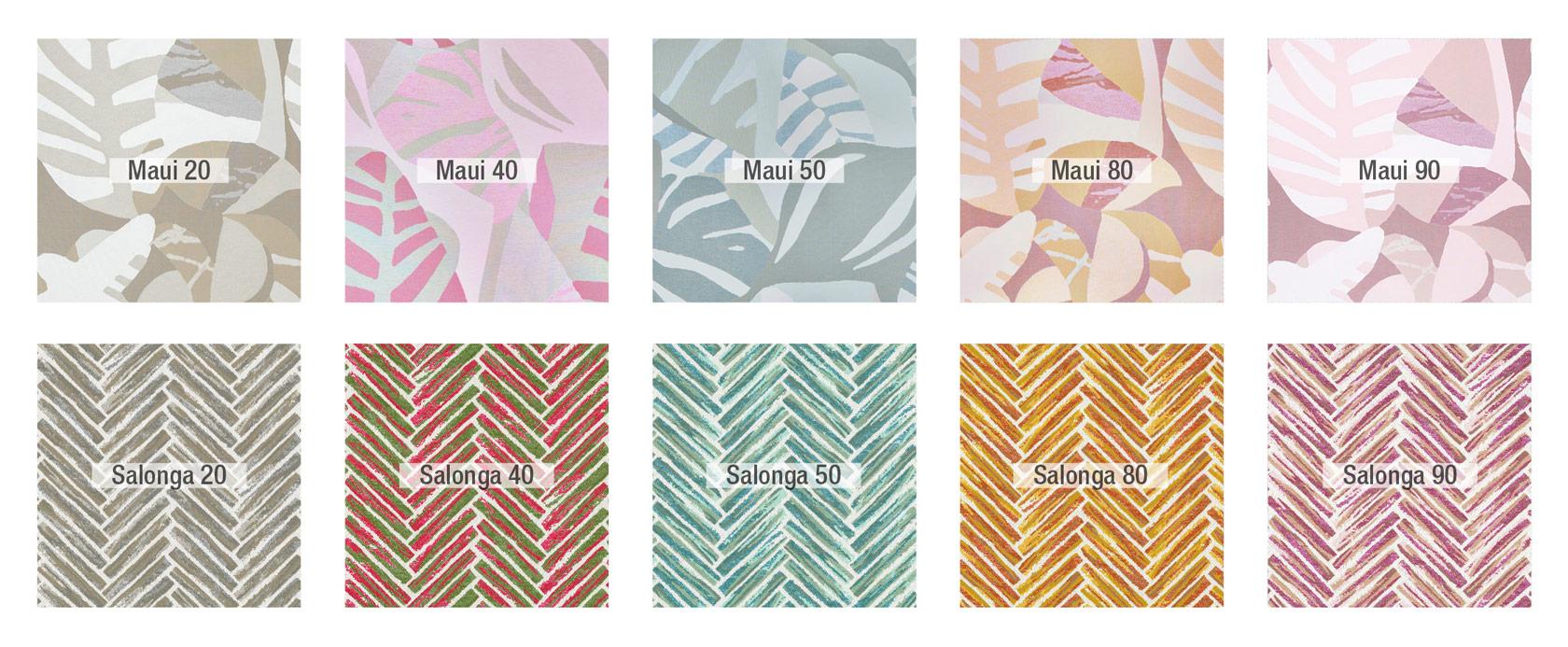 Maui-salonga colores tela fama 01