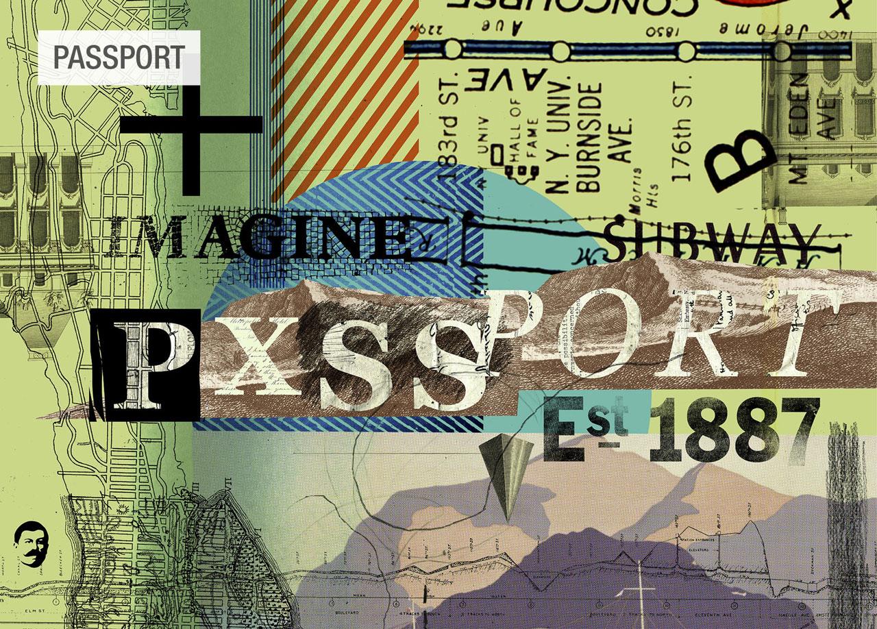dibujo Passport wander tela Fama 2020