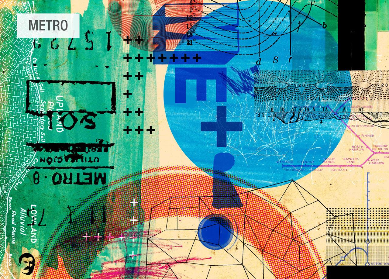 dibujo Metro wander tela Fama 2020