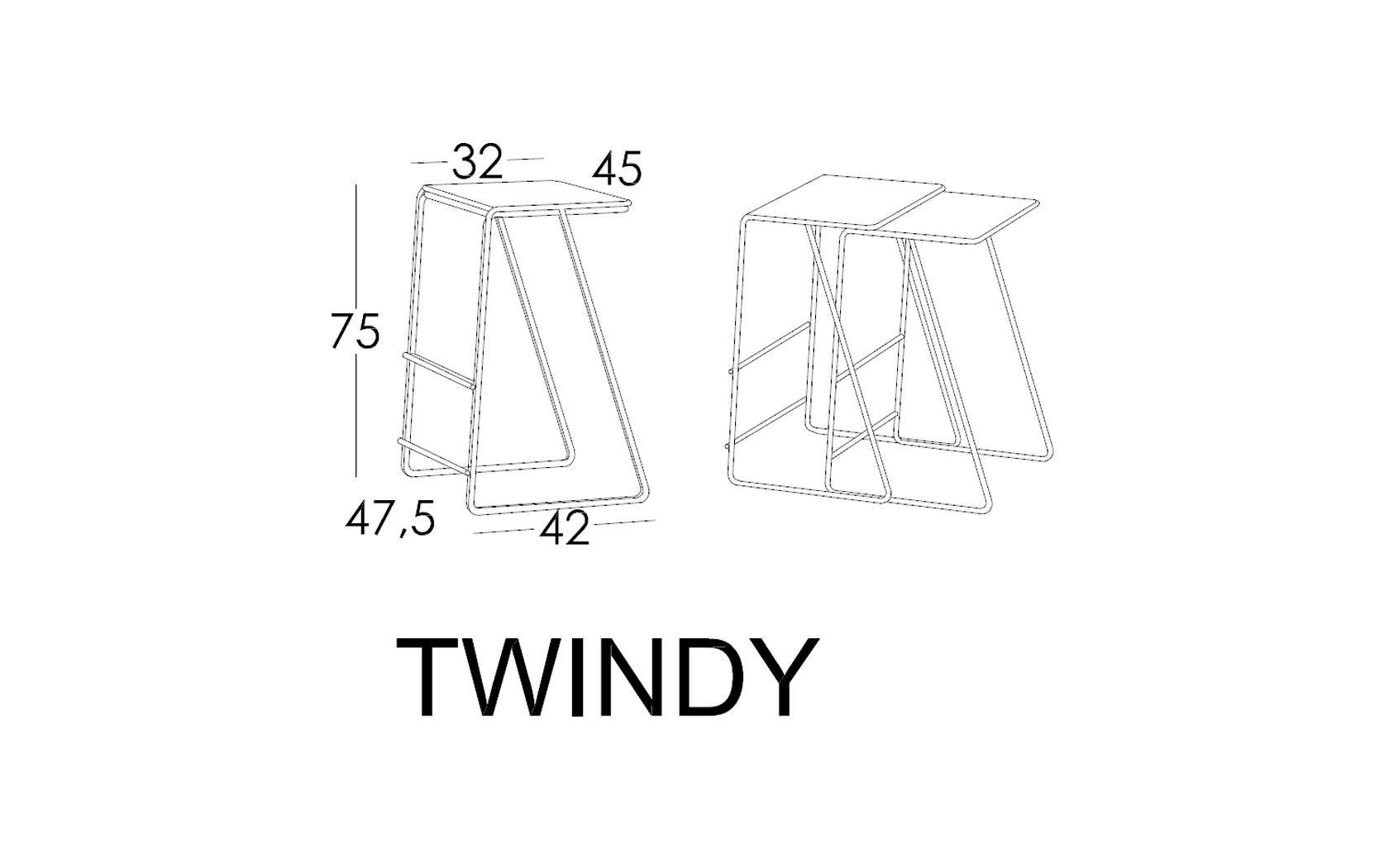 Twindy croquis alturas