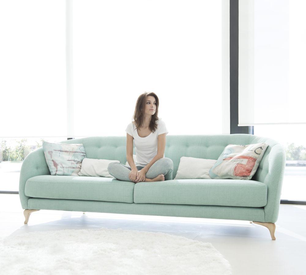 Tonalidades aguamarina sofas y sillones Fama 06