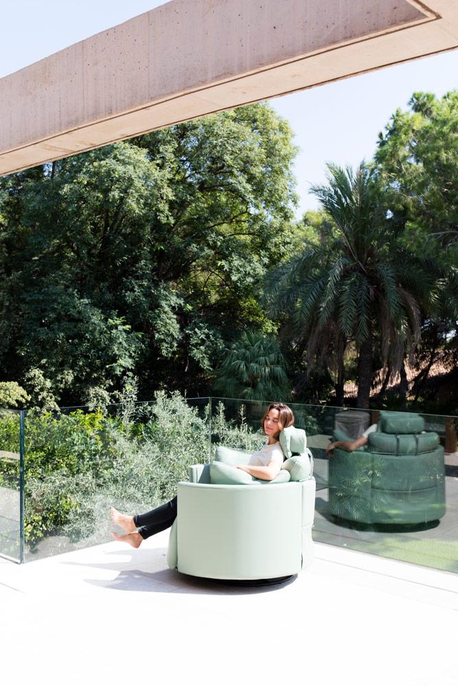 Tonalidades aguamarina sofas y sillones Fama 21