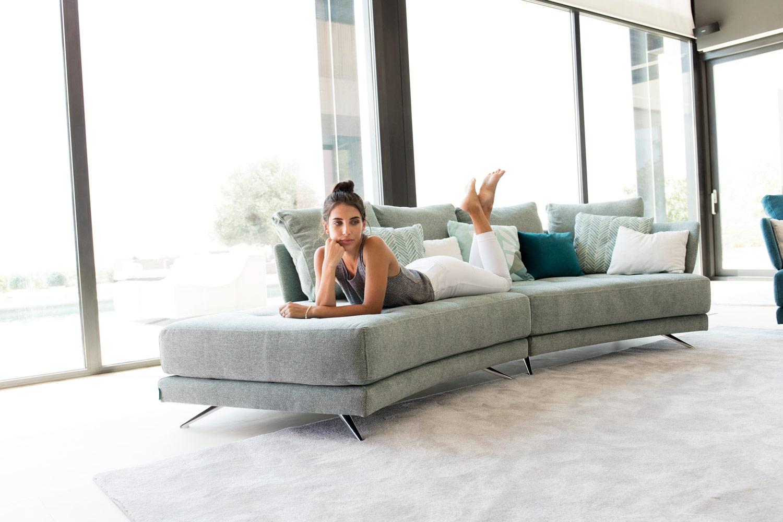 Tonalidades aguamarina sofas y sillones Fama 09