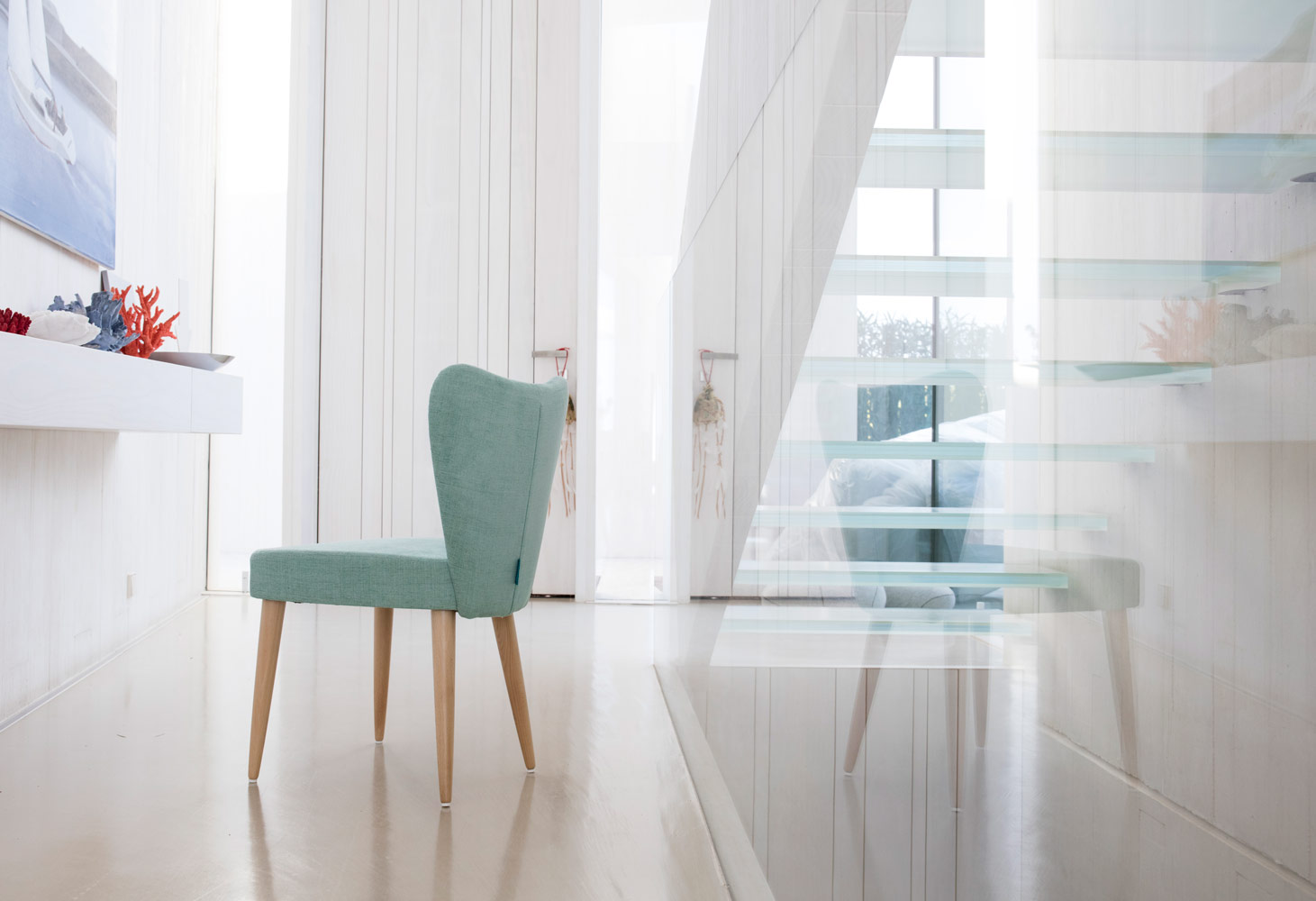 Tonalidades aguamarina sofas y sillones Fama 10