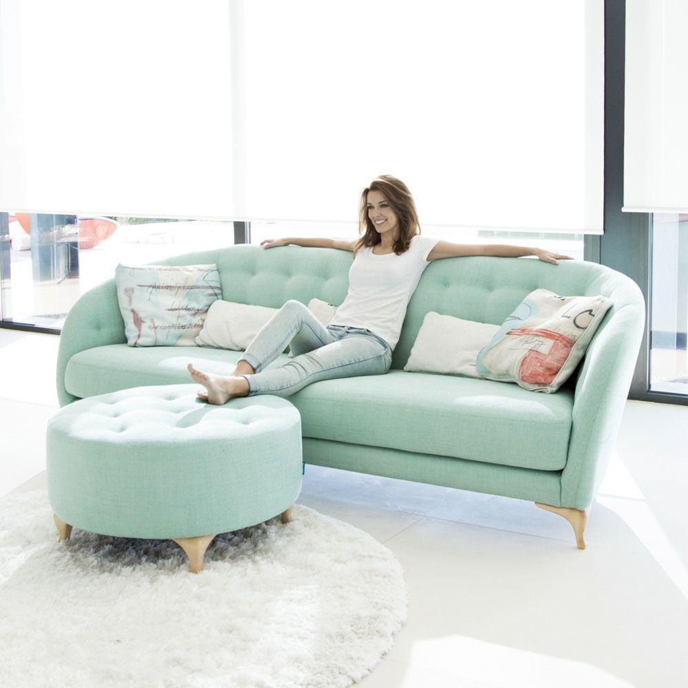 Tonalidades aguamarina sofas y sillones Fama 14