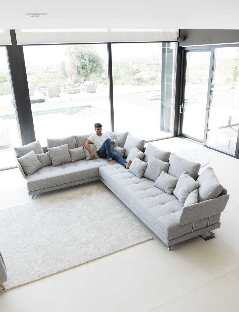 Tonalidades grises sofas y sillones Fama 05