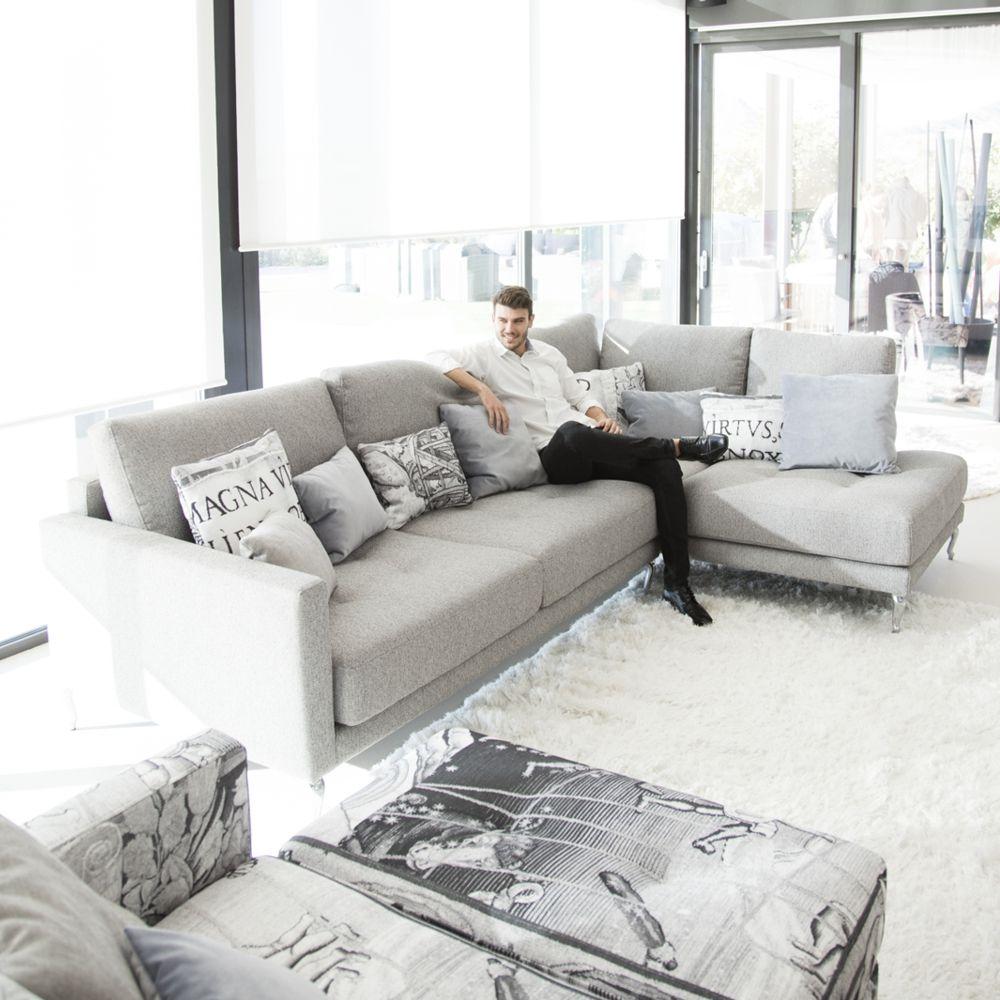 Tonalidades grises sofas y sillones Fama 14