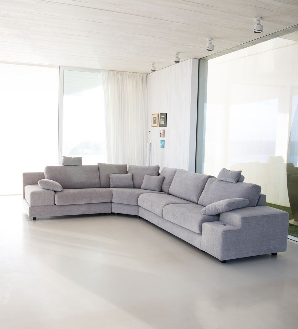 Tonalidades grises sofas y sillones Fama 23