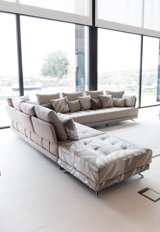 Tonalidades marron y beige sofas y sillones Fama 04