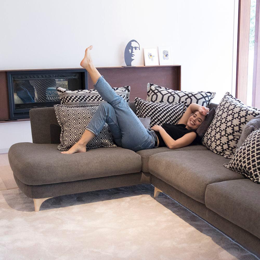 Tonalidades marron y beige sofas y sillones Fama 05