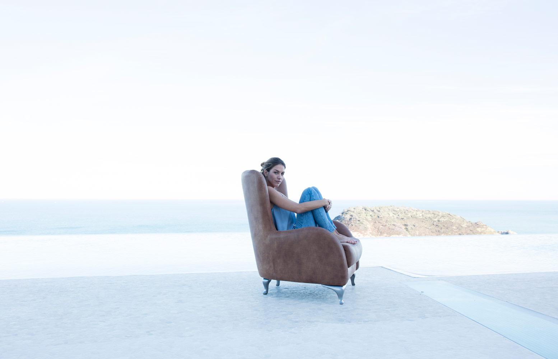 Tonalidades marron y beige sofas y sillones Fama 11