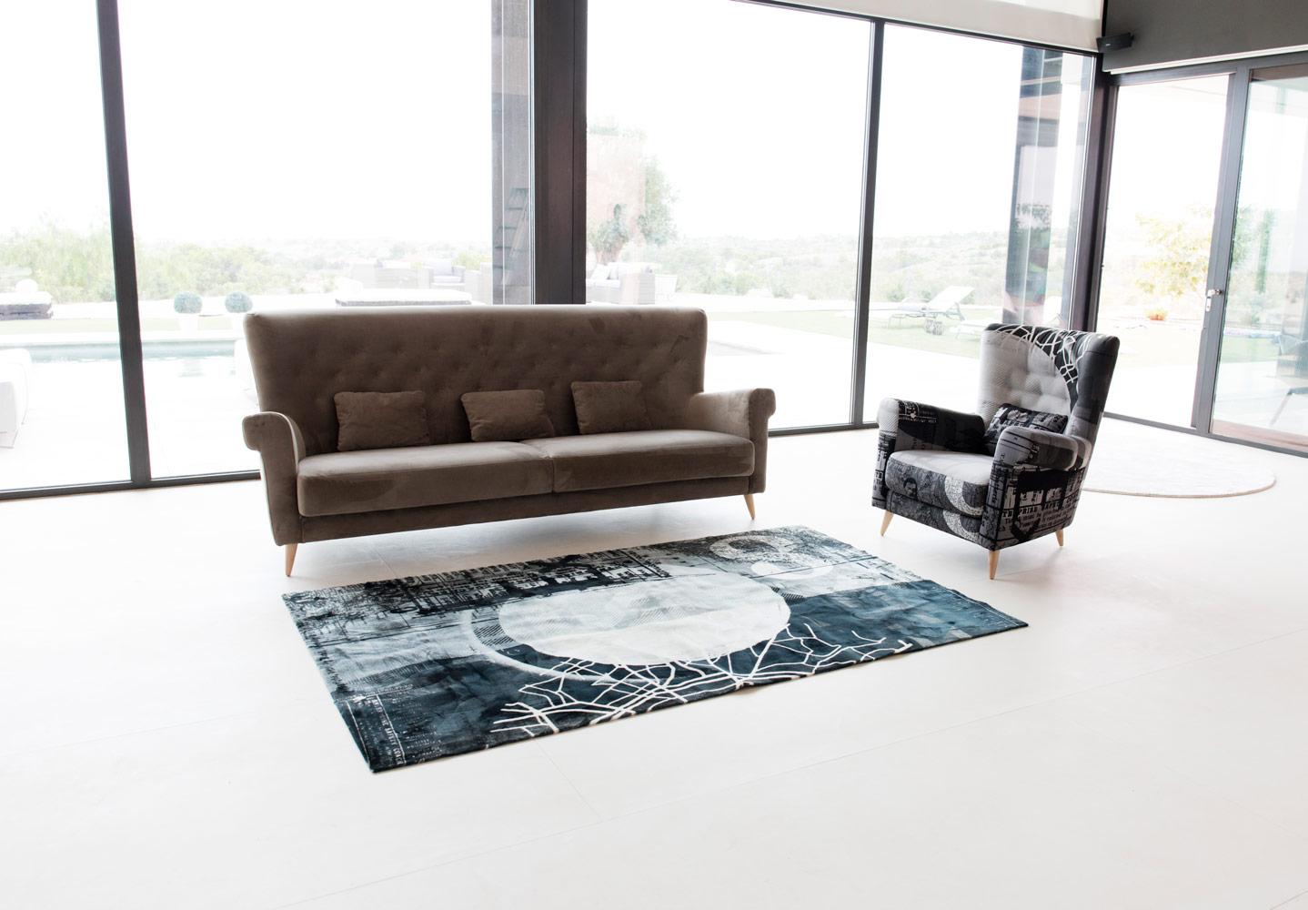 Tonalidades marron y beige sofas y sillones Fama 18