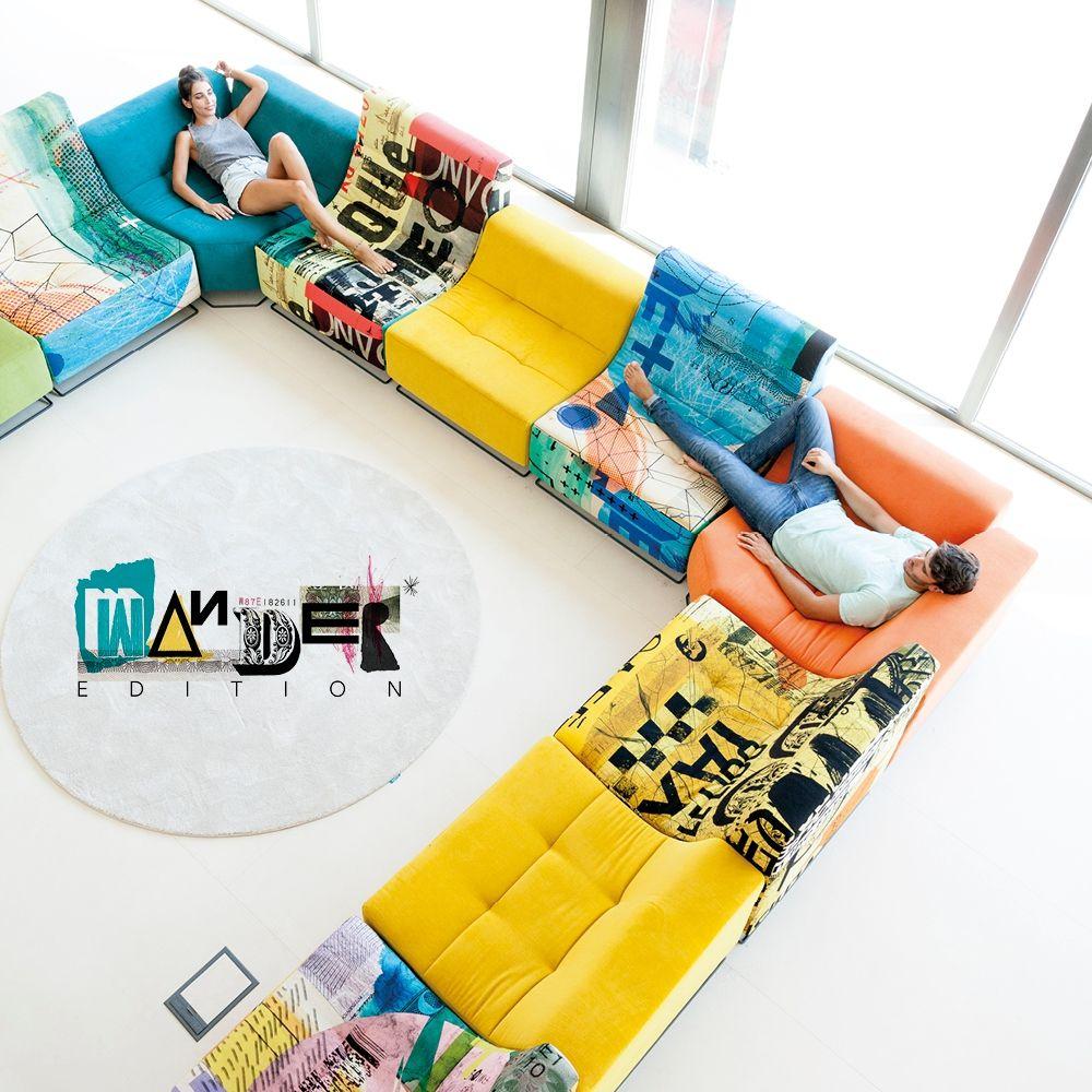 Multicolor sofas y sillones Fama 04