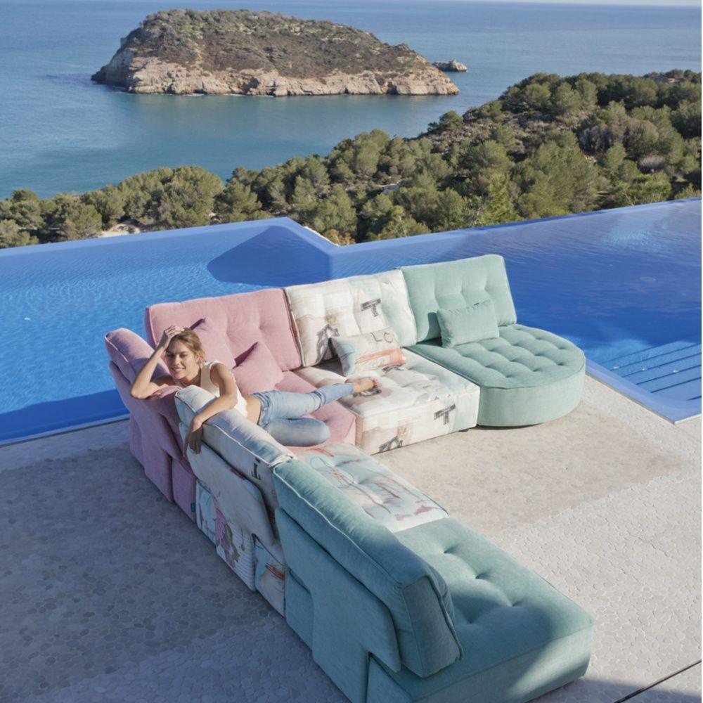 Multicolor sofas y sillones Fama 29