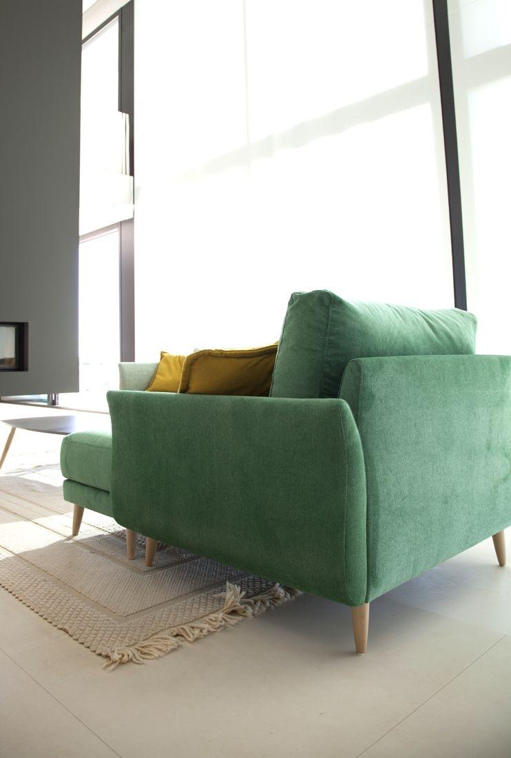 Tonalidades verdes sofas y sillones Fama 04