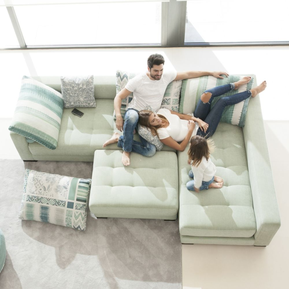 Tonalidades verdes sofas y sillones Fama 05
