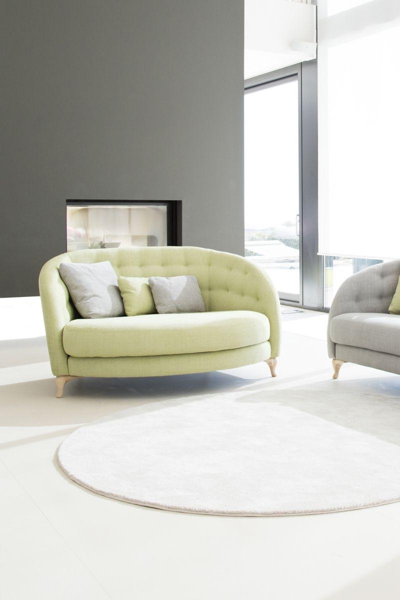 Tonalidades verdes sofas y sillones Fama 17