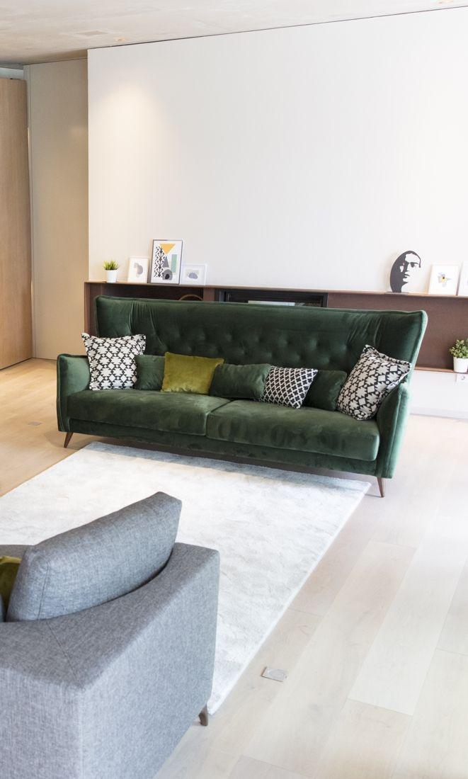 Tonalidades verdes sofas y sillones Fama 20