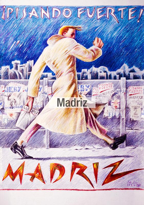 Madriz La Movida tela Fama 2021