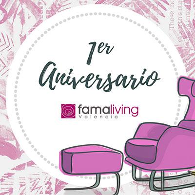 Primer aniversario de Famaliving Valencia