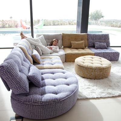 El sofá, un punto vital en nuestros hogares.