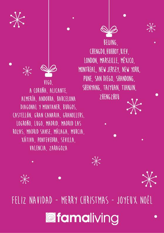 Navidad en Famaliving Barcelona