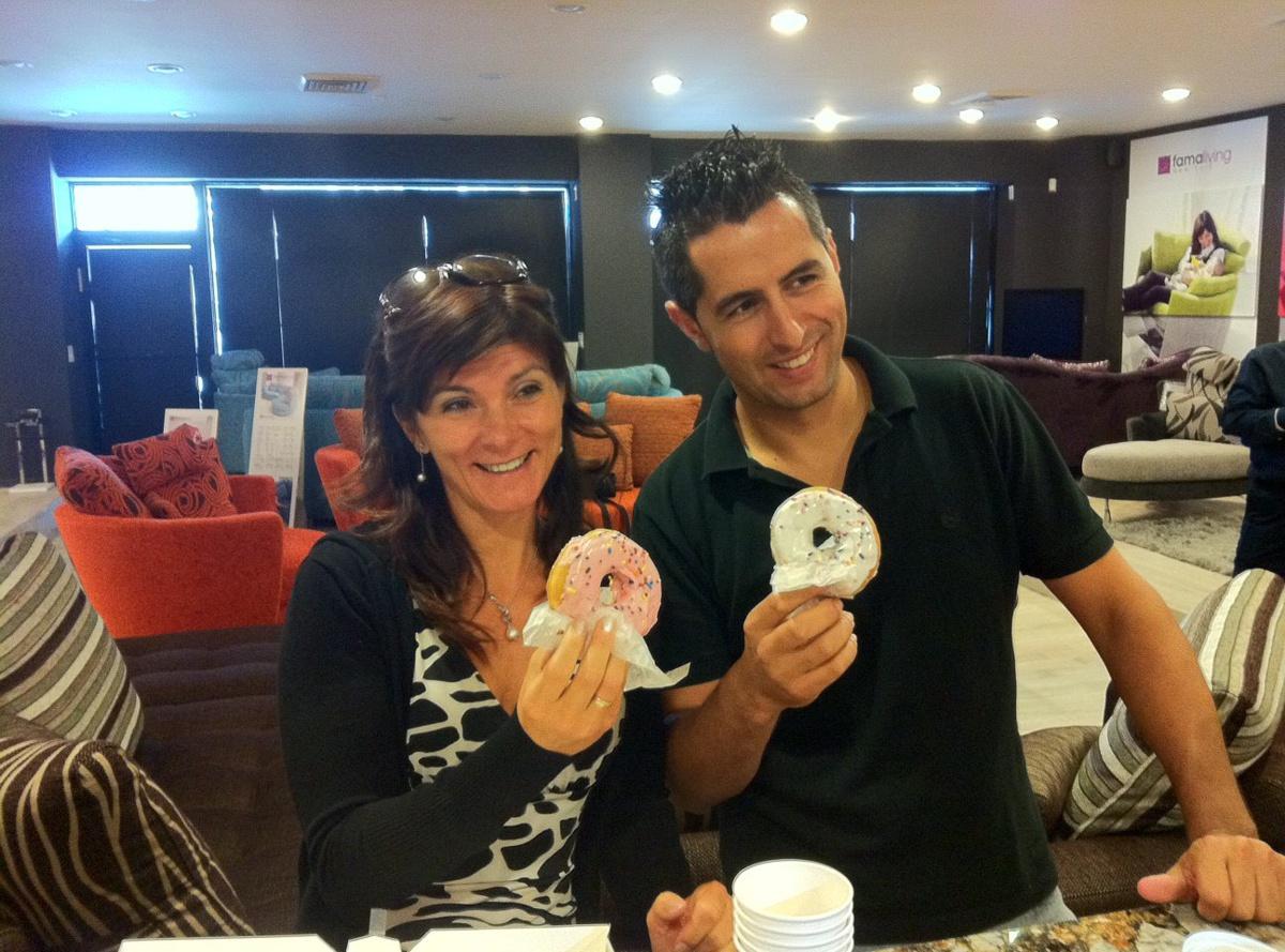 Donuts en Famaliving New York