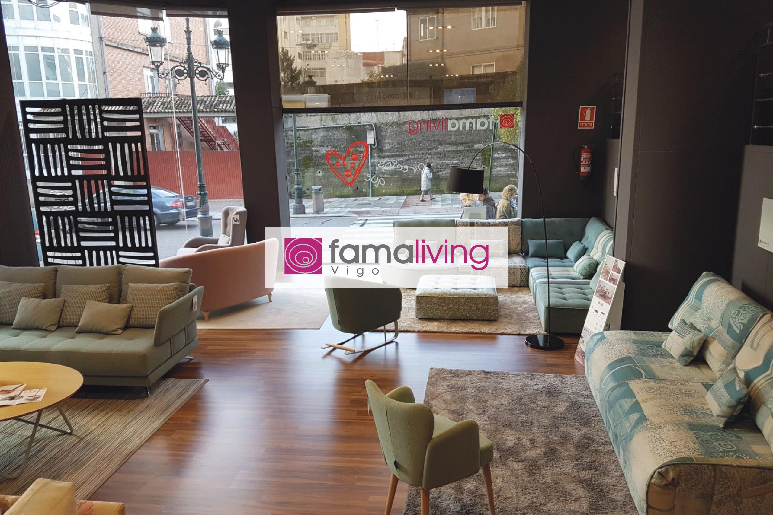 Famaliving Vigo - Tienda de sofás.
