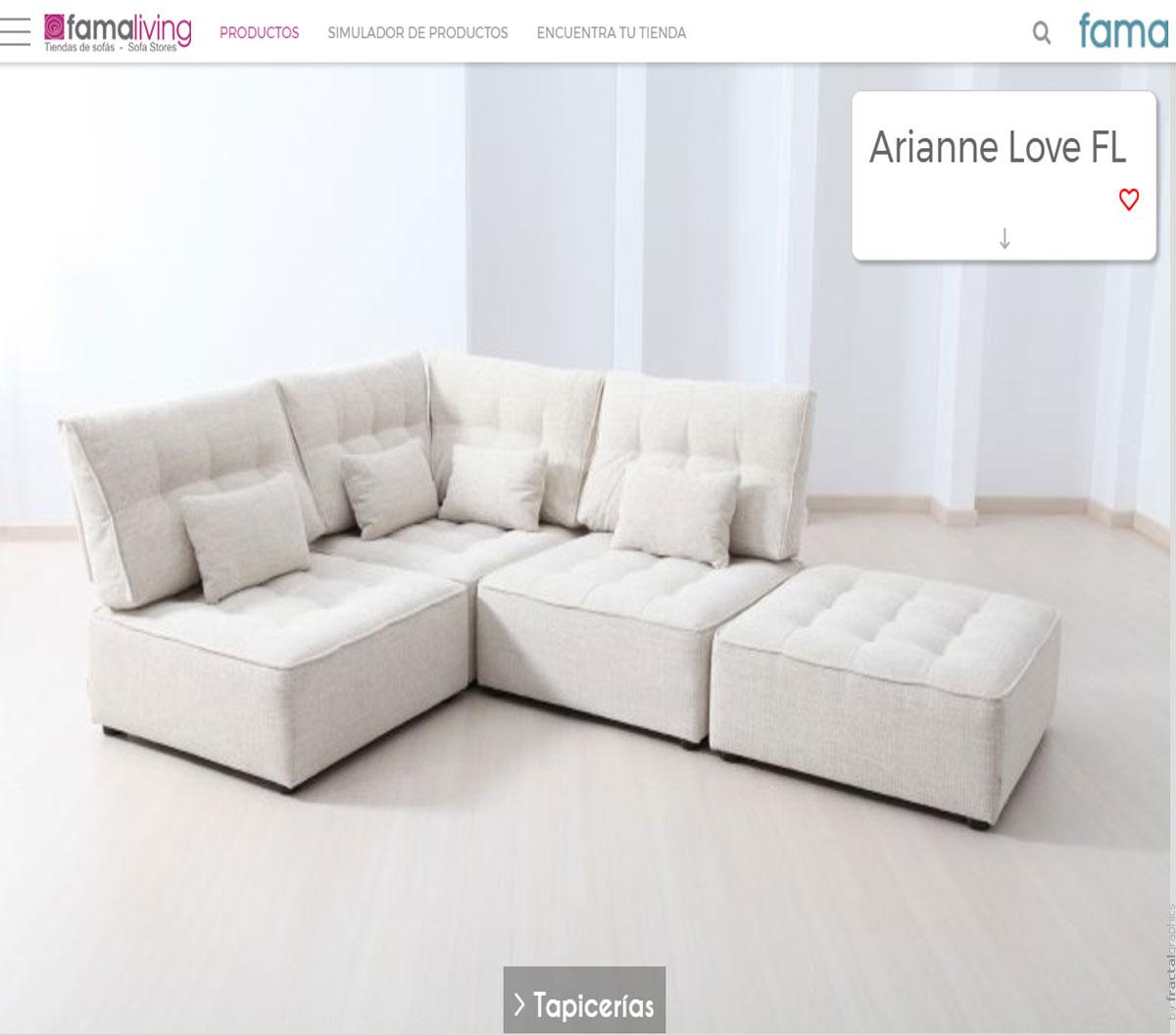 Disfruta eligiendo tu sofá en Famaliving.