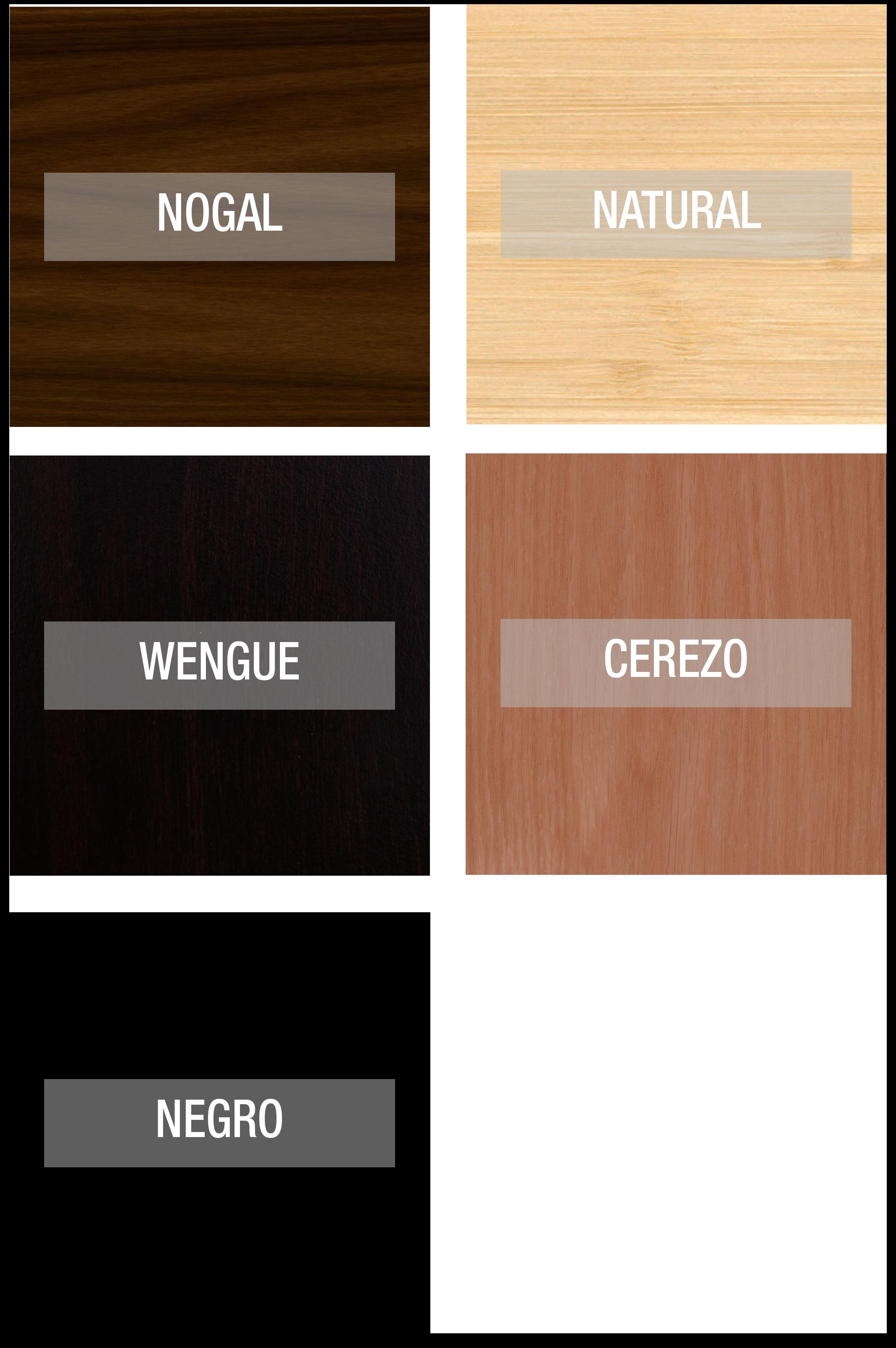 Colores pata de madera mili