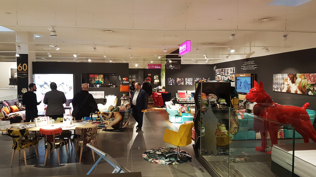 New Famaliving store in Grenoble