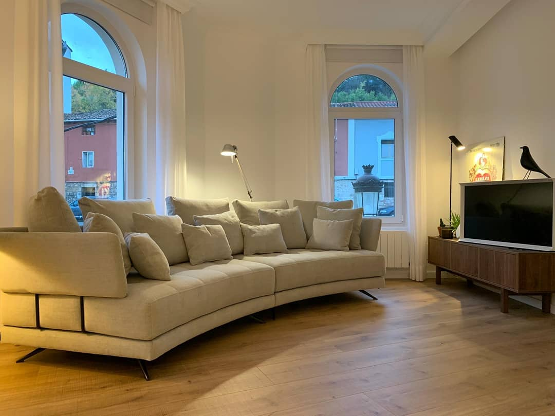 How the Fama sofas and armchairs look in our customers homes